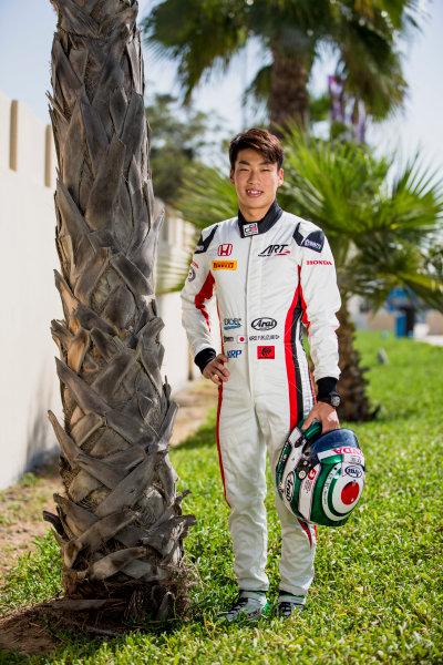 2017 GP3 Series Round 8.  Yas Marina Circuit, Abu Dhabi, United Arab Emirates. Thursday 23 November 2017. Nirei Fukuzumi (JPN, ART Grand Prix). Photo: Zak Mauger/GP3 Series Media Service. ref: Digital Image _X0W7574