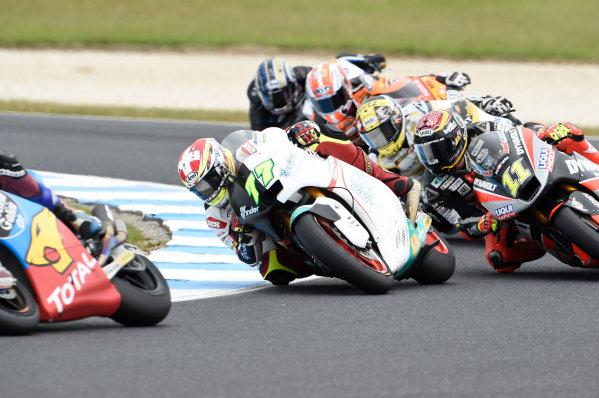 2017 Moto2 Championship - Round 16 Phillip Island, Australia. Sunday 22 October 2017 Dominique Aegerter, Kiefer Racing World Copyright: Gold and Goose / LAT Images ref: Digital Image 24753