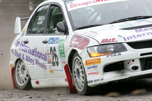 Jonny MilnerJim Clark Rally2006 British Rally ChampionshipKelso, ScotlandWorldwide copyright: Ebrey/LAT Photographic
