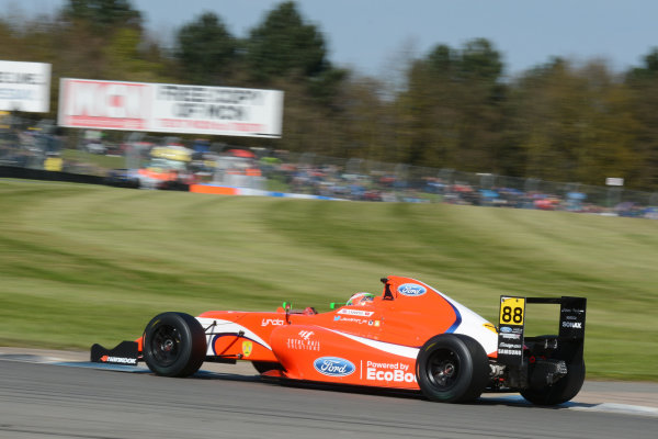 2016 MSA Formula Donington Park, 16th-17th April 2016, Jack Martin (GBR) TRS Arden MSA Formula  World copyright. Jakob Ebrey/LAT Photographic