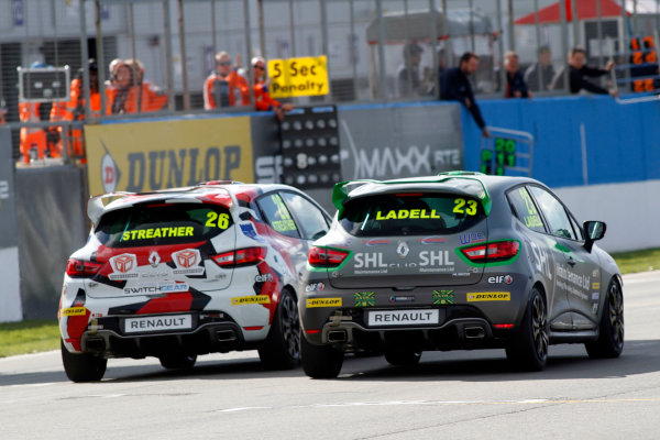 2016 Renault Clio Cup, Donington Park, 16th-17th April 2016, Charles Ladell (GBR) WDE Motorsport Renault Clio Cup  World copyright. Jakob Ebrey/LAT Photographic