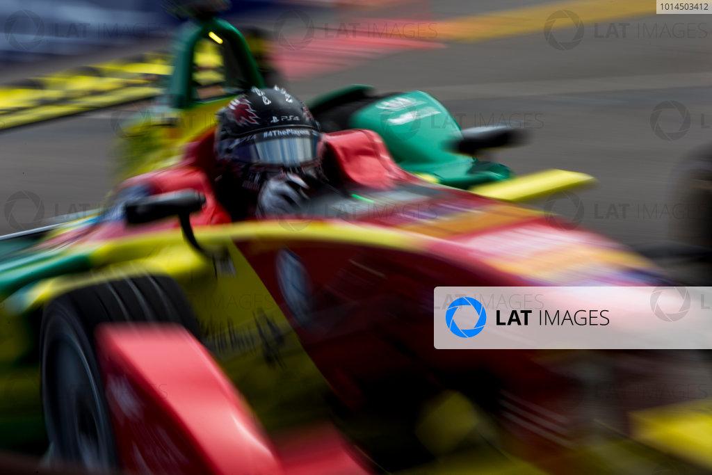 2015/2016 FIA Formula E Championship. Punta del Este ePrix, Punta del Este, Uruguay. Friday 18 December 2015. Daniel Abt (GER), ABT Audi Sport FE01. Photo: Zak Mauger/LAT/Formula E ref: Digital Image _L0U6711