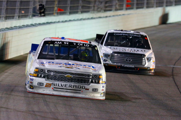 13-14 November, 2014, Homestead, Florida USA Joey Coulter and Johnny Sauter ? 2014, Russell LaBounty LAT Photo USA