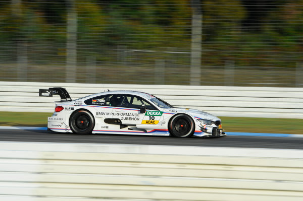 2014 DTM Championship Round 10 - Hockenheim, Germany 17th - 19th October 2014 Martin Tomczyk (GER) BMW Team Schnitzer, BMW M4 DTM World Copyright: XPB Images / LAT Photographic  ref: Digital Image 3353354_HiRes