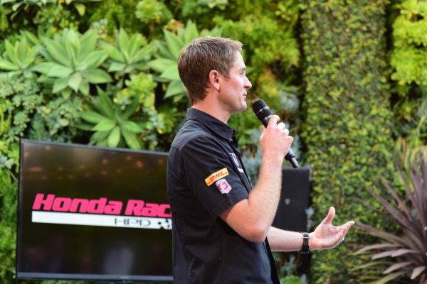 9 March, 2015, Culver City, California USA  Ryan Hunter-Reay ?2015, Kit Sinclair LAT Photo USA Courtesy of Honda Racing