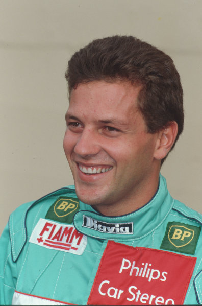 Formula 1 World Championship.Mauricio Gugelmin (Leyton House March-Judd).Ref-G3A 01.World - LAT Photographic