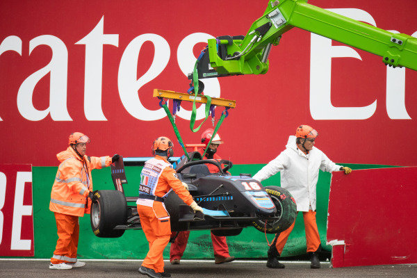 AUTODROMO NAZIONALE MONZA, ITALY - SEPTEMBER 06: Andreas Estner (DEU, Jenzer Motorsport) during the Monza at Autodromo Nazionale Monza on September 06, 2019 in Autodromo Nazionale Monza, Italy. (Photo by Joe Portlock / LAT Images / FIA F3 Championship)