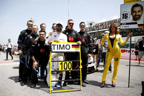 100th race for Timo Glock, BMW Team RMG.