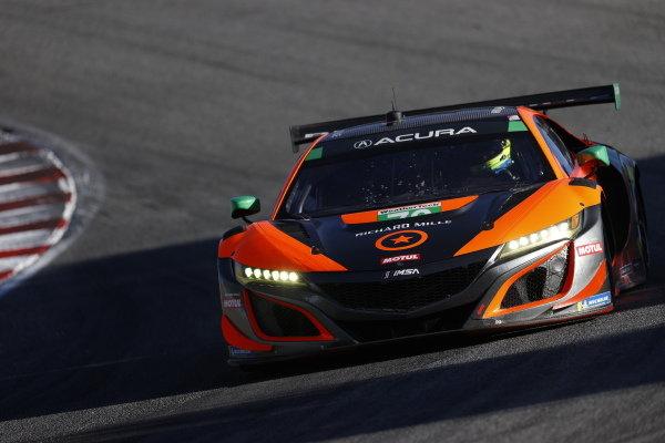 #76: Compass Racing Acura NSX GT3, GTD: Jeff Kingsley, Mario Farnbacher