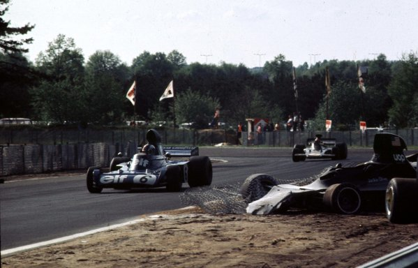 1973 Belgian Grand Prix.Zolder, Belgium.18-20 May 1973.Francois Cevert (Tyrrell 006 Ford) 2nd position.Ref-73 BEL 28.World Copyright - LAT Photographic