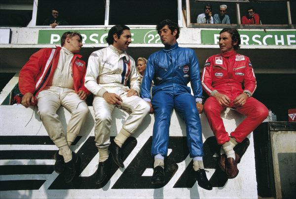 Leo Kinnunen, Pedro Rodriguez, Brian Redman and Jo Siffert.