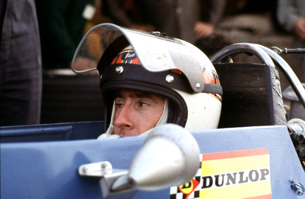 1968 Mexican Grand Prix.Mexico City, Mexico.1-3 November 1968.Jackie Stewart (Matra Ford) 7th position.Ref-68 MEX 23.World Copyright - LAT Photographic