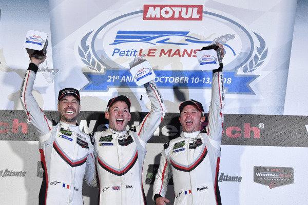#911 Porsche Team North America Porsche 911 RSR, GTLM: Patrick Pilet, Nick Tandy, Frederic Makowiecki