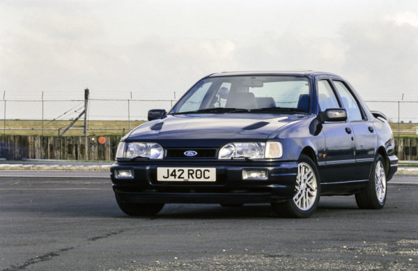 Ford Sierra RS Cosworth at Silverstone.