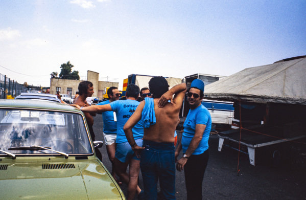 Scaini Racing Team members.
