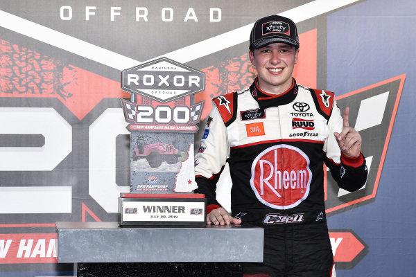 #20: Christopher Bell, Joe Gibbs Racing, Toyota Supra Rheem-Watts wins