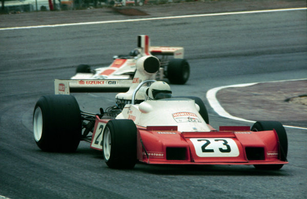 1974 Spanish Grand Prix.Jarama, Madrid, Spain.26-28 April 1974.Tim Schenken (Trojan T103 Ford) 14th position.World Copyright - LAT Photographic