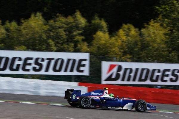 Spa-Francorchamps, Spa, Belgium. 30th August 2009.Sunday Race.Alberto Valerio (BRA, Piquet GP). Action.  World Copyright: Glenn Dunbar / GP2 Series Media Service.Ref: _3GD9270 jpg