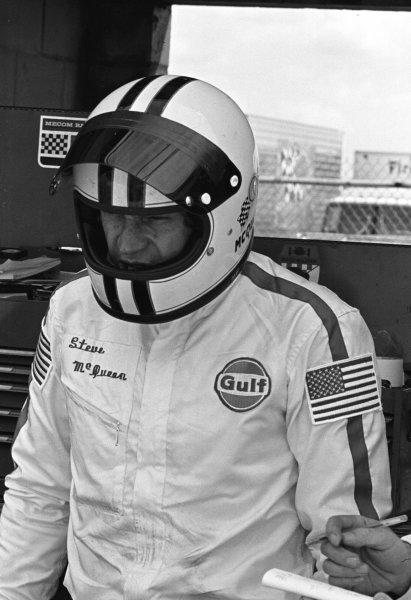 Sebring, Florida, USA.21 March 1970.Steve McQueen (Porsche), 2nd position.World - LAT Photographic