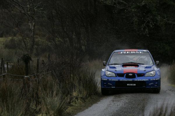 Round 1, Rally Ireland, 29th Jan - 1st Feb 2009, Tim McNulty, Subaru, Action, Worldwide Copyright: McKlein/LAT