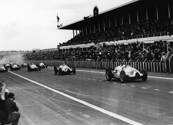 Reims-Gueux, France. 9 July 1939.