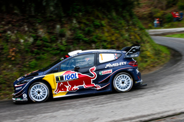 Elfyn Evans, Ford, action,
