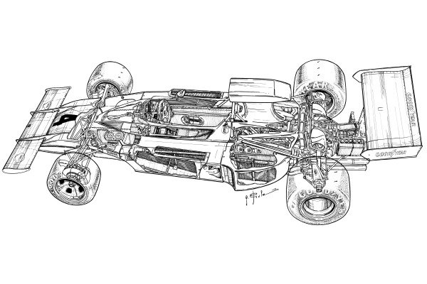 Ferrari 312B3 1973 detailed overview