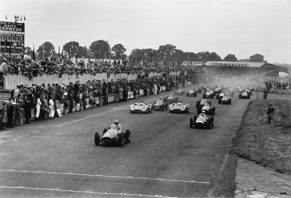 Silverstone, Great Britain. 17 July 1954.