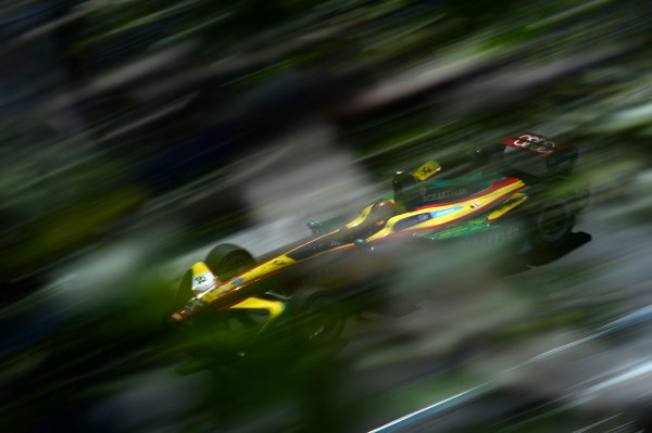 Hungaroring, Budapest, Hungary.  Sunday 30 July 2017. Daniel Abt (GER), ABT Schaeffler Audi Sport, Spark-Abt Sportsline, ABT Schaeffler FE02. World Copyright: Patrik Lundin/LAT Images  ref: Digital Image PL2_1171 copy