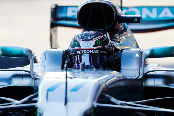 Baku City Circuit, Baku, Azerbaijan. Saturday 24 June 2017. Valtteri Bottas, Mercedes F1 W08 EQ Power+.  World Copyright: Steven Tee/LAT Images ref: Digital Image _O3I2333