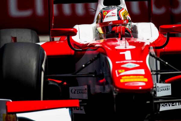 2017 FIA Formula 2 Round 4. Baku City Circuit, Baku, Azerbaijan. Friday 23 June 2017. Charles Leclerc (MCO, PREMA Racing)  Photo: Zak Mauger/FIA Formula 2. ref: Digital Image _54I0367