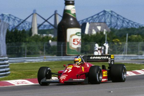 1985 Canadian Grand Prix  Montreal, Canada. 14-16 June 1985.  Michele Alboreto, Ferrari 156/85, 1st position.  Ref: 85CAN01. World copyright: LAT Photographic