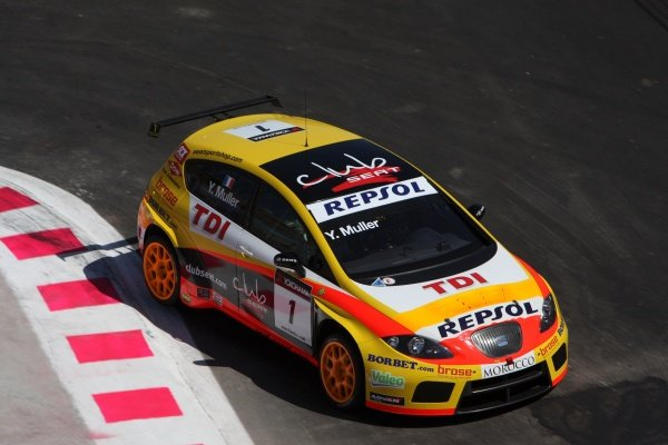 Yvan Muller (FRA), SEAT Leon 2.0 TDI, finished second in race 2.