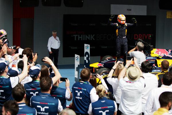 2015 GP2 Series Round 2. Circuit de Catalunya, Barcelona, Spain. Sunday 10 May 2015. Alex Lynn (GBR, DAMS). Photo: Zak Mauger/GP2 Series Media Service. ref: Digital Image _MG_7431