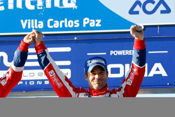 Round 05, Rally Argentina26th - 29th April 2012Sebastien Loeb, Citroen, podiumWorldwide Copyright: McKlein/LAT