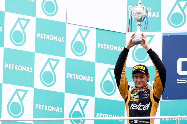 Sepang, Kuala Lumpur, Malaysia. 25th March 2012. Sunday Race.Esteban Gutierrez (MEX, Lotus GP).World Copyright: Alastair Staley/GP2 Series Media Service.Ref: Digital Image AS5D7682.jpg