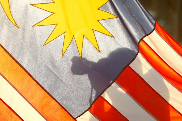 Sepang, Kuala Lumpur, Malaysia3rd April 2009Malaysian Flag. Atmosphere. World Copyright: Charles Coates/LAT Photographicref: Digital Image _26Y4380