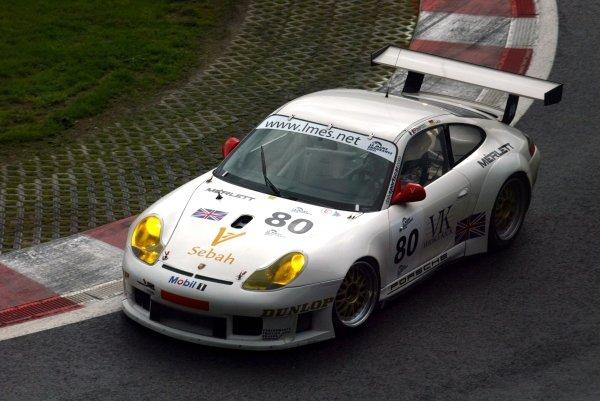 Xavier Pompidou (FRA) / Marc Lieb (GER) Sebah Automotive Porsche 911 GT3-R.Le Mans Endurance Series Rd4, Spa 1000km, Spa-Francorchamps, Belgium. 11/12/13 September 2004.Digital Image