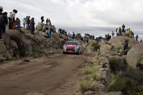 2008 FIA World Rally ChampionshipRound 04Rally Argentina 27-30 of MarchSebsatien Loeb, Citroen, ActionWorldwide Copyright: McKlein/LAT