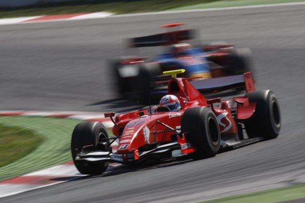 2008 GP2 Series. Round 1. Sunday Race.Barcelona, Spain. 27th April 2008Milos Pavlovic (SRB, BCN Competicion). Action. World Copyright: Glenn Dunbar/GP2 Series Media Service.ref:__O9T6810 jpg
