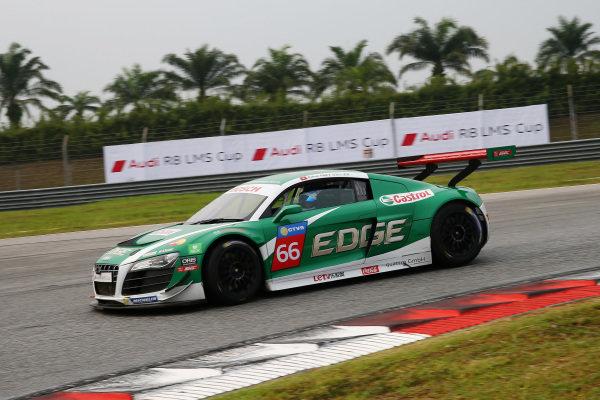 Rahel Frey (SUI) Castrol Racing Team at Audi R8 LMS Cup, Rd4, Sepang, Malaysia, 4-6 September 2015.