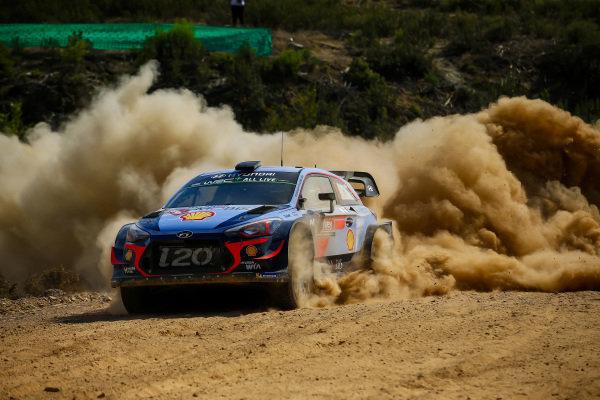 Thierry Neuville, Hyundai Motorsport, Hyundai i20 Coupé WRC 2018, Hayden Paddon, Hyundai Motorsport, Hyundai i20 Coupé WRC 2018,