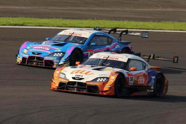 GT500 2nd position Yuhi Sekiguchi & Sacha Fenestraz, au TOM'S GR Toyota Supra