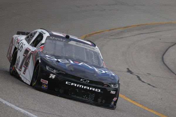 #74: C.J. McLaughlin, Mike Harmon Racing, Chevrolet Camaro SciAps