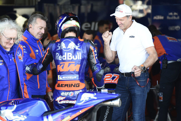Iker Lecuona, Red Bull KTM Tech 3, Guy Coulon, Red Bull KTM Tech 3, Herv? Poncharal, Red Bull KTM Tech 3