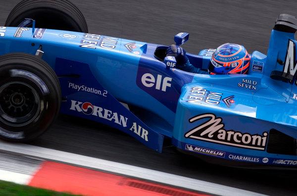 2001 Malaysian Grand Prix.Sepang, Kuala Lumpur, Malaysia. 16-18 March 2001.Jenson Button (Benetton B201 Renault).World Copyright - Steve Etherington/LAT Photographic.ref: 18mb Digital Image