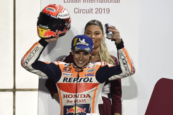 Podium: Marc Marquez, Repsol Honda Team.