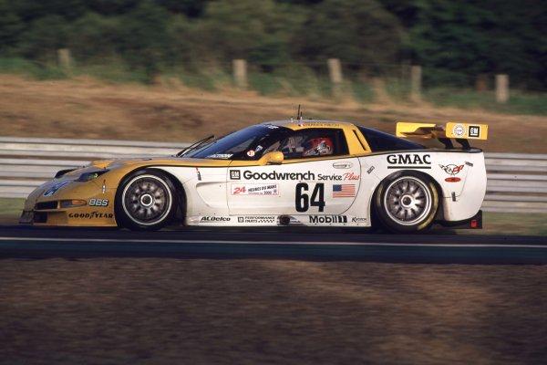 2000 Le Mans 24 Hours.Le Mans, France.17-18 June 2000.Franck Freon/Andy Pilgrim/Kelly Collins (Chevrolet Corvette C5R).World - LAT Photographic