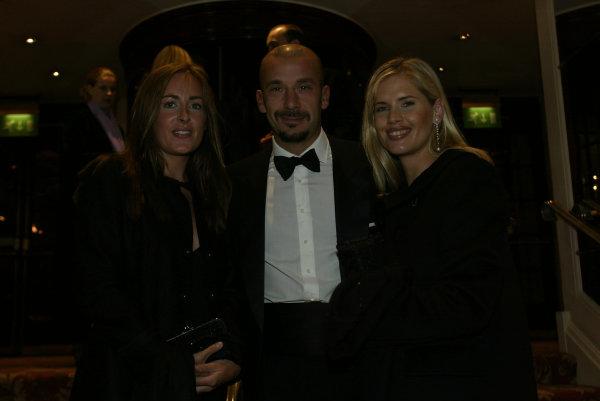2002 Autosport Awards.Gianluca Vialli.Grosvenor Hotel, London, England.1st December 2002.World Copyright: Spinney/LAT Photographic.Ref.: Digital Image Only.