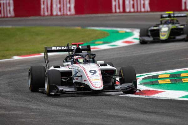 AUTODROMO NAZIONALE MONZA, ITALY - SEPTEMBER 06: Raoul Hyman (GBR, Sauber Junior Team by Charouz) during the Monza at Autodromo Nazionale Monza on September 06, 2019 in Autodromo Nazionale Monza, Italy. (Photo by Joe Portlock / LAT Images / FIA F3 Championship)